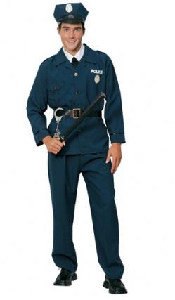 costume policier h