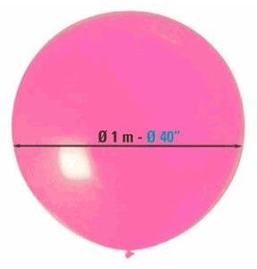 Ballon d'1m garni de Bonbons et confettis